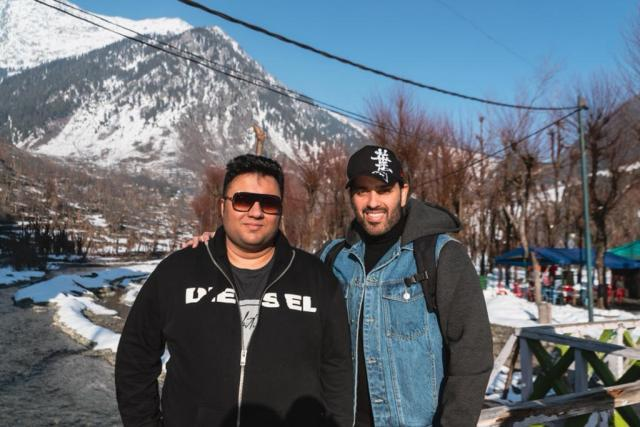 Luv Sinha on an adventurous trip to Kashmir to scout for a shoot location