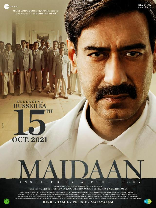 Ajay Devgn Starrer 'Maidaan' To Now Release On Dussehra 2021
