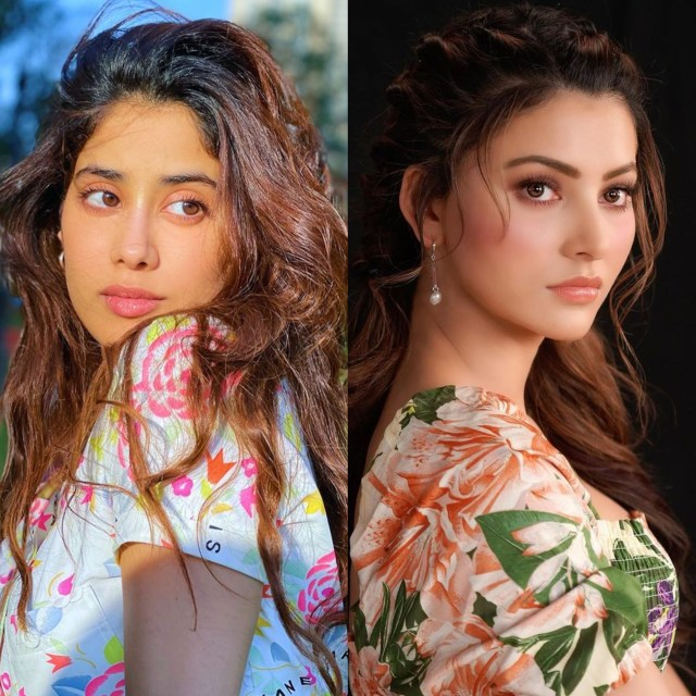 Urvashi Rautela, Janhvi Kapoor channel their inner Shakira; Watch Video!!
