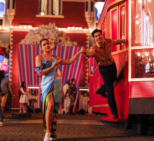 Tere Siva track from Coolie No. 1 showcase Varun Dhawan and Sara Ali Khan chemistry