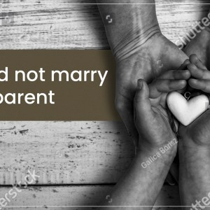 You do not need to be married to be a parent