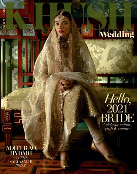 Aditi Rao Hydari looks stunning in Sabyasachi couture