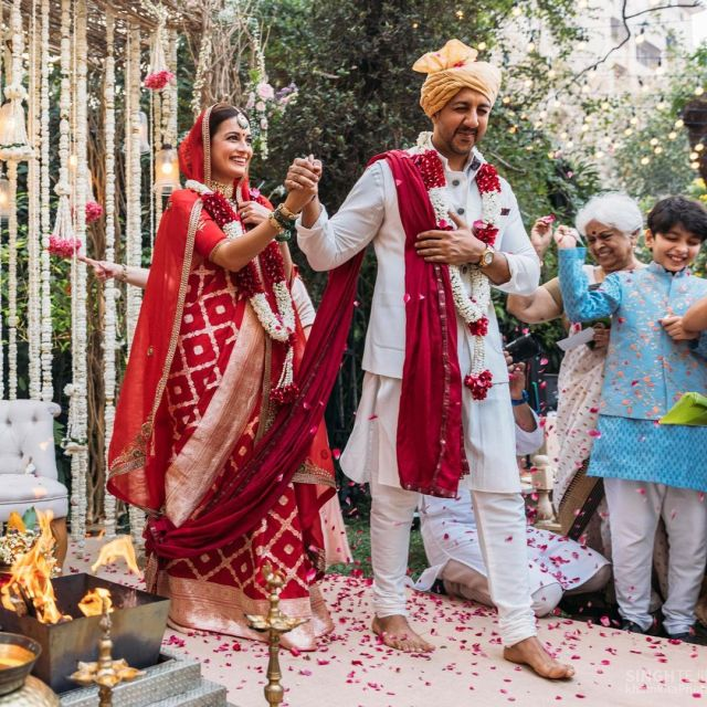 Dia Mirza ties the knot with private equity professional Vaibhav Rekhi at her Bandra residence