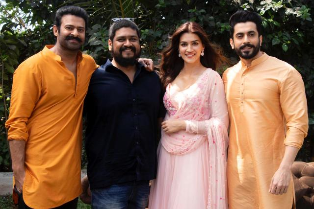Kriti Sanon and Sunny Singh to join Prabhas and Saif Ali Khan on the magnum opus
