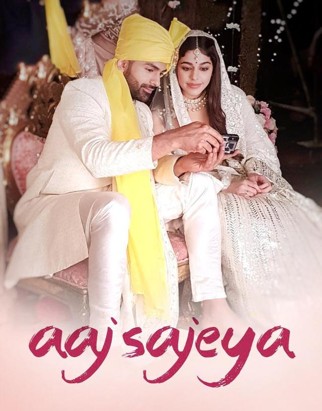 """Taha Shah and Alaya F wedding track """"Aaj Sajeya"""" is just unmissable"""