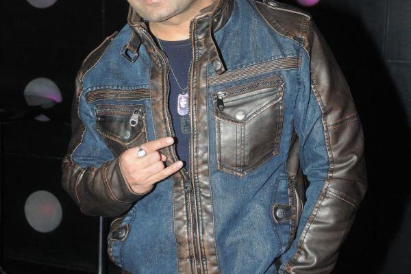 DJ Sheizwood posing
