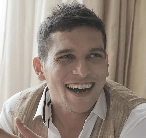 Pradyuman Smiling To The Camera