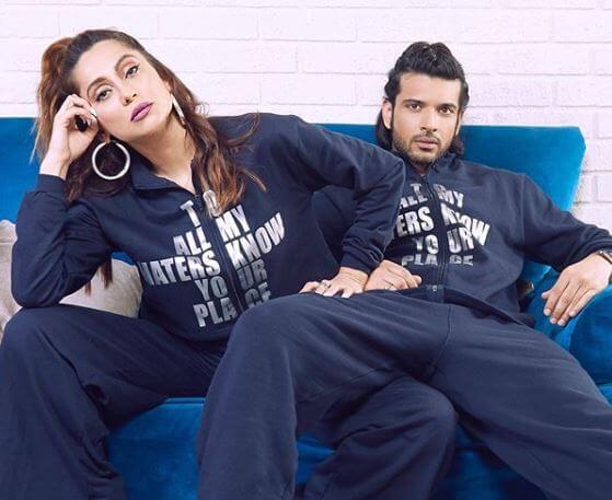 Karan Kundrra and Anusha
