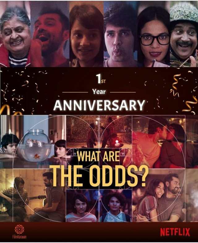 Yashaswini Dayama & Karanvir Malhotra celebrate one year of their feature film 'What Are The Odds'