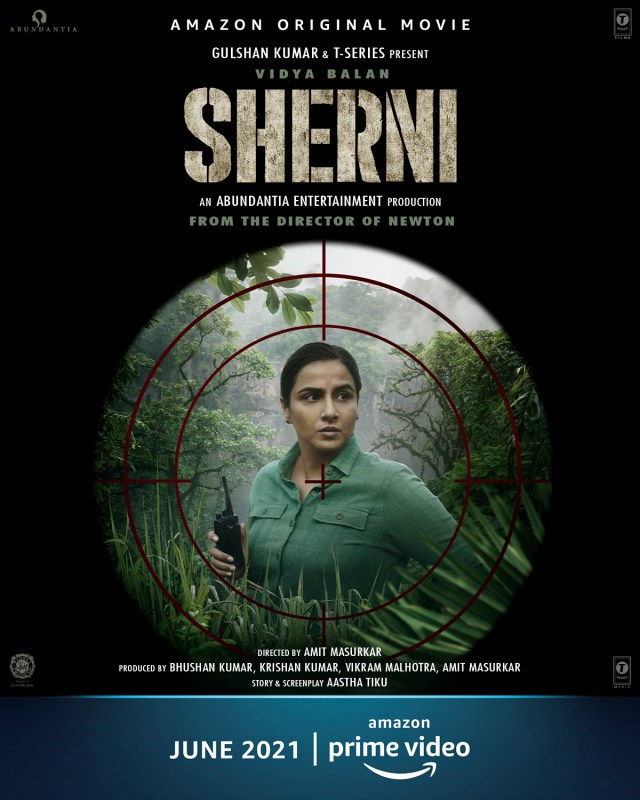 Teaser of Vidya Balan's next - Sherni, depicts her as a forest officer; leaves fans intrigued and excited