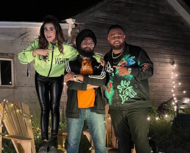 Jonita Gandhi and Deep Jandu collaborate for a new Punjabi single - Mera Jee Karda