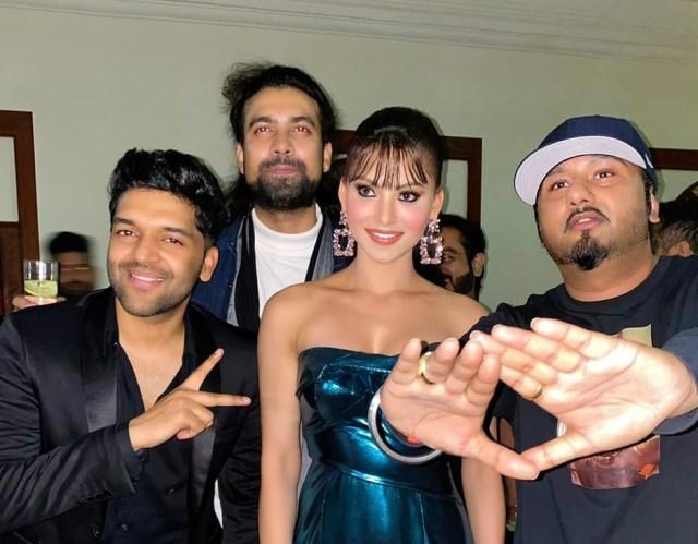 Urvashi Rautela to collaborate for upcoming project opposite Guru Randhawa and Yo Yo Honey Singh