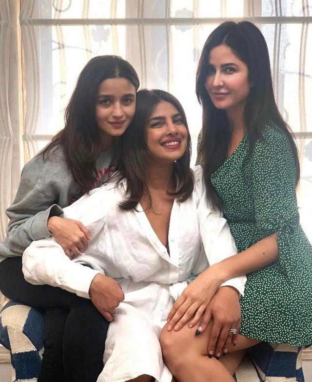 Priyanka Chopra, Alia Bhatt and Katrina Kaif announce 'Jee Le Zaraa'