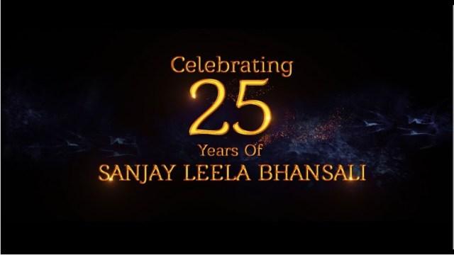 Celebrating 25 years of Sanjay Leela Bhansali