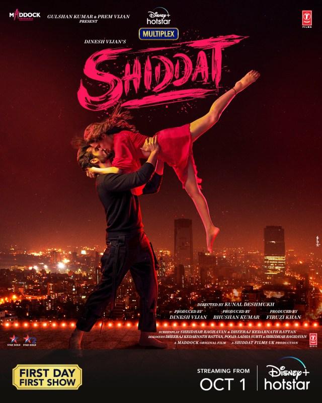 Dinesh Vijan's Shiddat to release on 1st October
