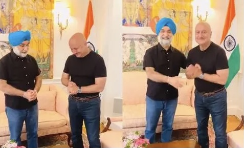 Anupam Kher shares his experience of staying with Indian Ambassador in US