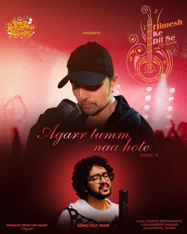 Himesh Reshammiya launches 'Agarr Tumm Naa Hote' ft. Nihaal Tauro