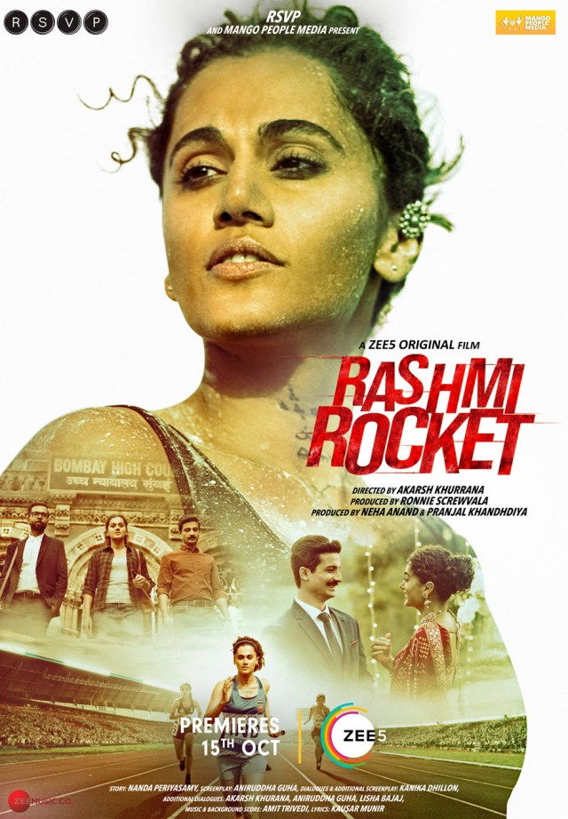 Zee5 Global Announces Next Original, Taapsee Pannu starrer 'Rashmi Rocket'