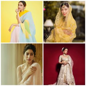 Take cues from these B-town beauties for your Diwali outfit