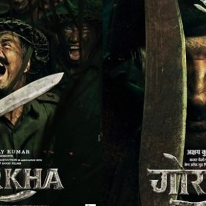 Akshay Kumar shares the first look of his next war film 'Gorkha