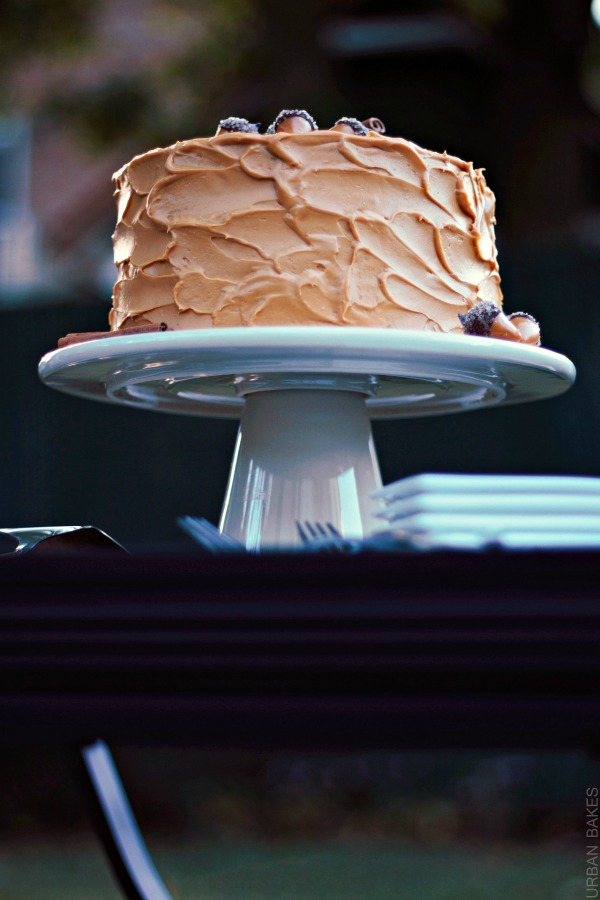 Spiced Cake with Dulce de Leche Frosting | urbanbakes.com