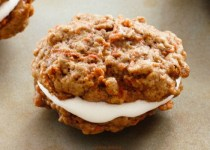 Soft Baked Carrot Cookie Sandwiches