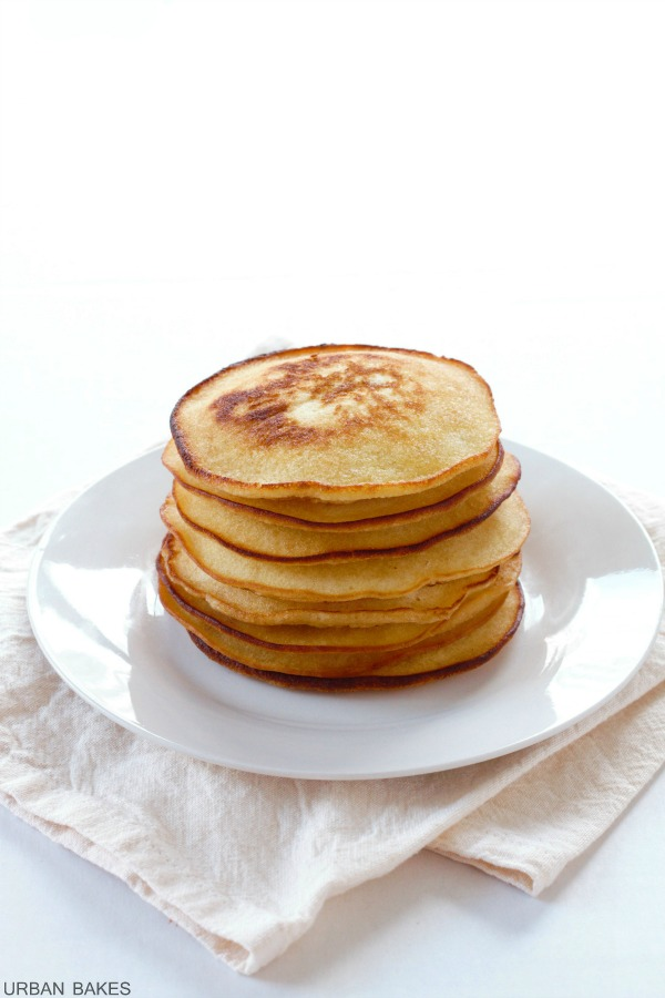 Browned Butter Pancakes | URBAN BAKES