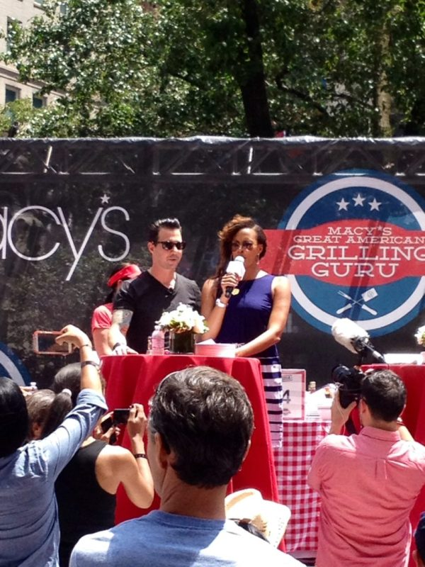 Johnny Iuzzini at the Macy's Great American Grilling Guru in NYC