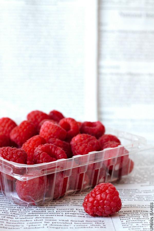New YorK-Style Raspberry Crumb Cake - URBAN BAKES 1.3