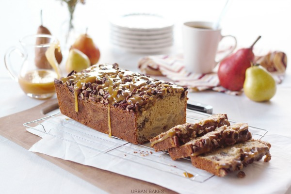 Praline Pear Bread