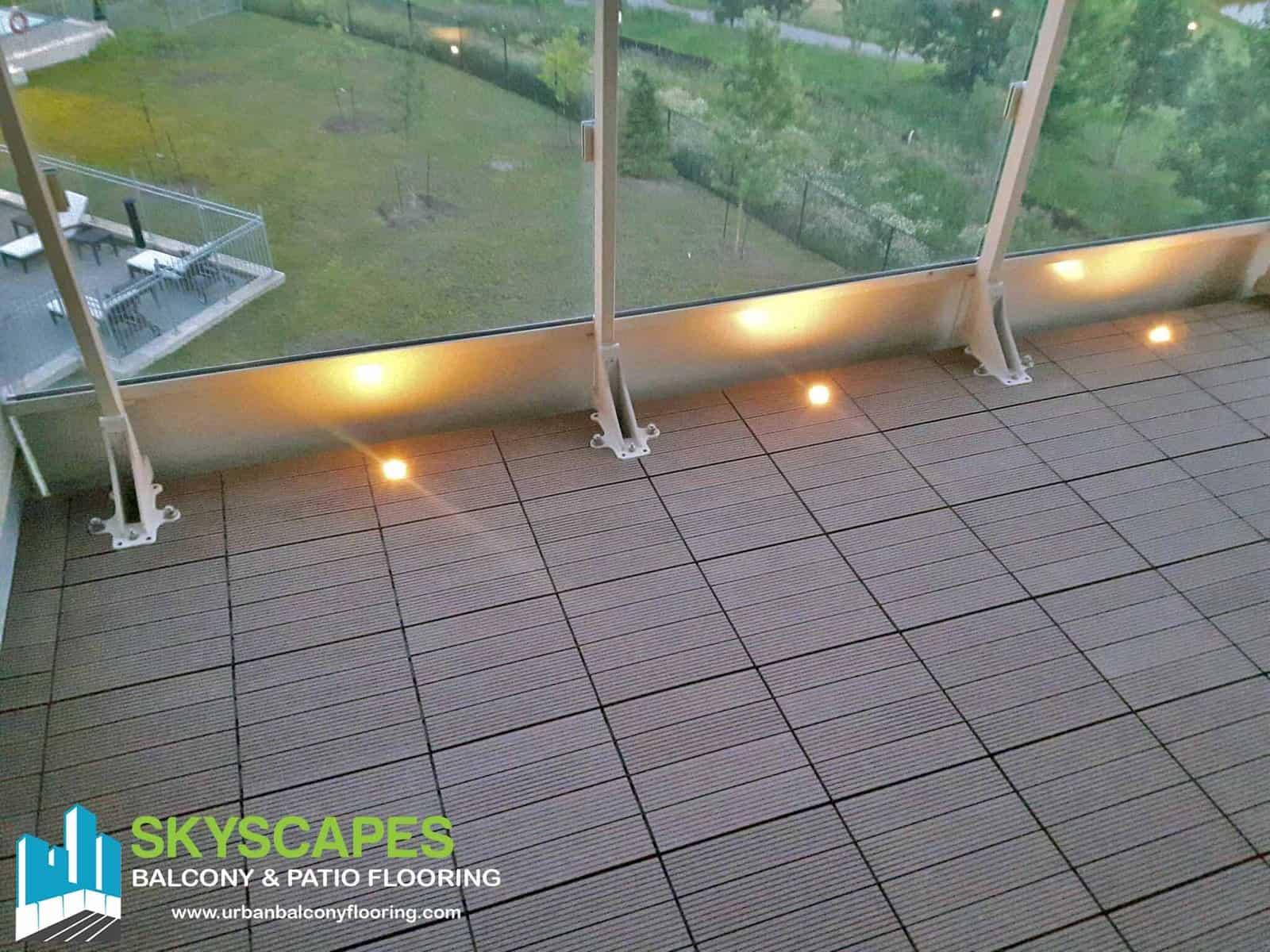wpc deck tiles balcony flooring toronto