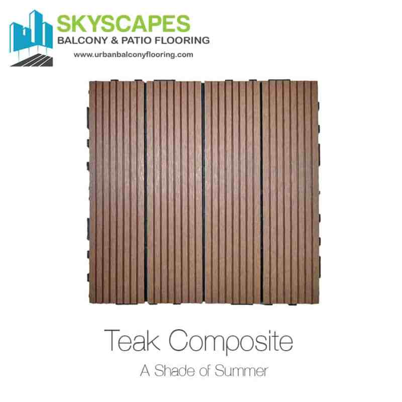 Outdoor Floor Tiles and Installation from Skyscapes Urban Balcony Flooring.