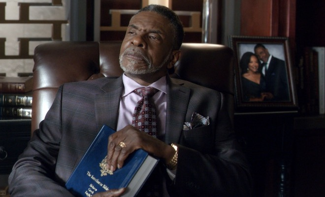 did james really get money from the cryptocurrency in greenleaf