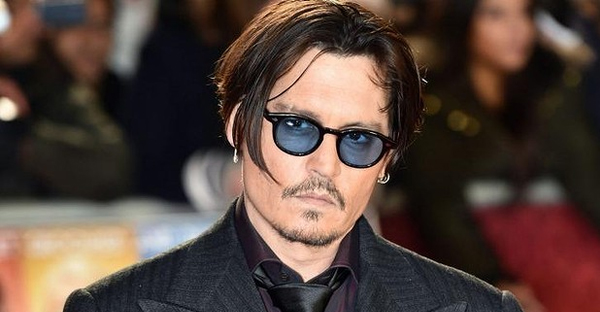 US actor Johnny Depp arrives for the UK premiere of the film Mortdecai in London on January 19, 2015. (AFP)