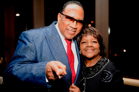 Dr. Bobby Jones and Shirley Caesar