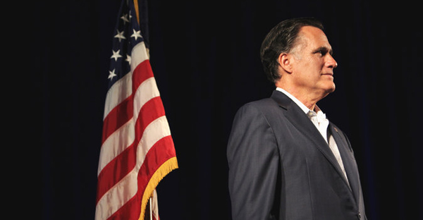 Mitt Romney had expressed renewed interest this month in another presidential run, but his flirtation prompted a fierce backlash across Republican circles. (Travis Dove for The New York Times)