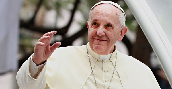 Pope Francis: 'You cannot make fun of the faith of others.' (Lisa Maree Williams/Getty Images)