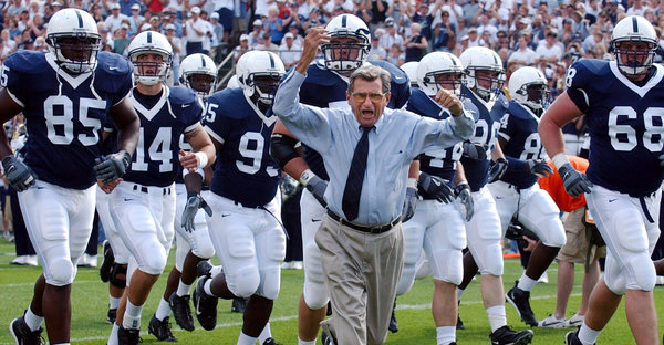 In the settlement, Penn State's wins from 1998 to 2011 would be restored, again making Joe Paterno, who died in 2012, the winningest head coach in college football. (Carolyn Kaster/Associated Press)
