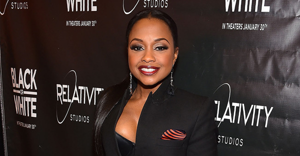 """Phaedra Parks attends """"Black Or White"""" Red Carpet Screening at Regal Atlantic Station on January 22, 2015 in Atlanta, Georgia. (Paras Griffin/Getty Images North America)"""