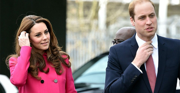 The Duchess of Cambridge looked radiant in £1,500 Mulberry coat as she and Prince William visited the Stephen Lawrence Centre on her last engagement before maternity leave (PHOTO CREDIT: Tim Rooke / REX)