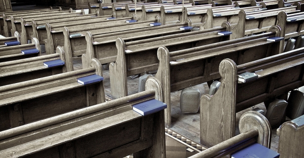 With pews increasingly empty in churches across the U.S., churches must be creative with their ministries, experts say. (Creative Commons photo by khrawlings)