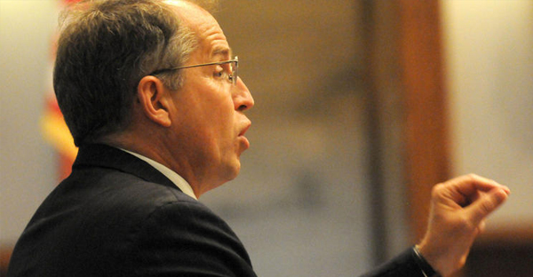 Jordan Lorence argues a case before the Minnesota Supreme Court in 2012. (Associated Press)