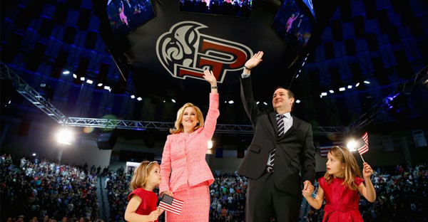 Sen. Ted Cruz commenced his GOP presidential campaign at Virginia's Liberty University, reinforcing the importance of evangelical voters to him. (Associated Press)