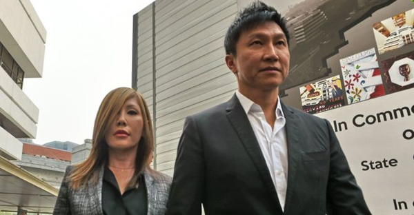 City Harvest was founded by Kong Hee (right) and his wife, pastor turned pop singer Sun Ho (left) (AFP)