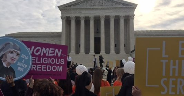 The Supreme Court is seeking a possible compromise in seven contraceptive mandate cases. (Photo: Richard Wolf, USA TODAY)