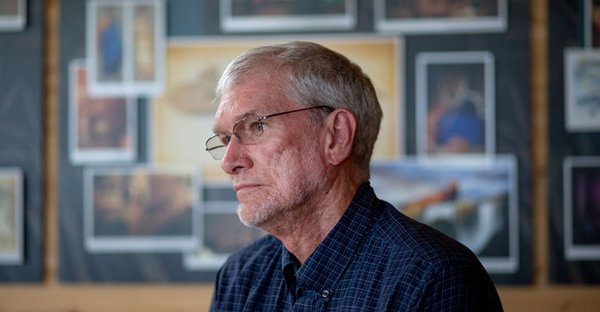 Ken Ham, the president and founder of Answers in Genesis. (Kyle Grillot for The New York Times)