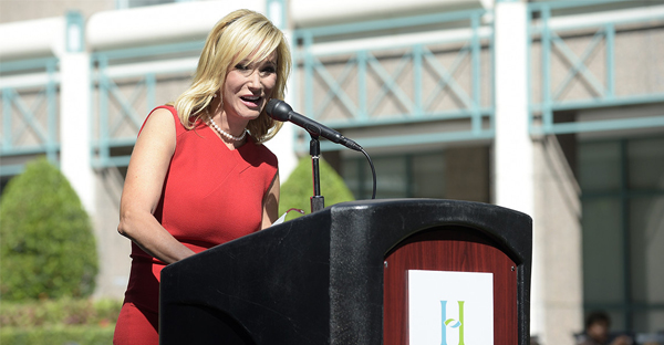 Pastor Paula White is trying to connect Donald Trump to the evangelical world. (AP Photo)