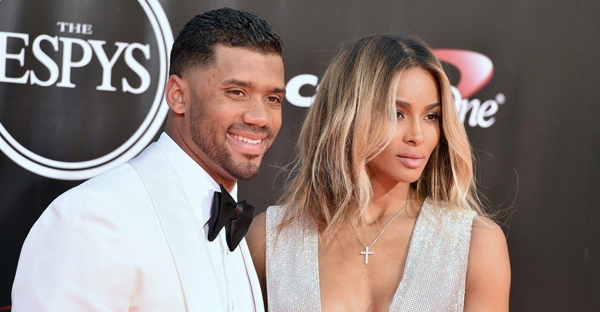 Ciara and her now-husband Russell Wilson abstained from sex before their wedding day. (JORDAN STRAUSS/AP)