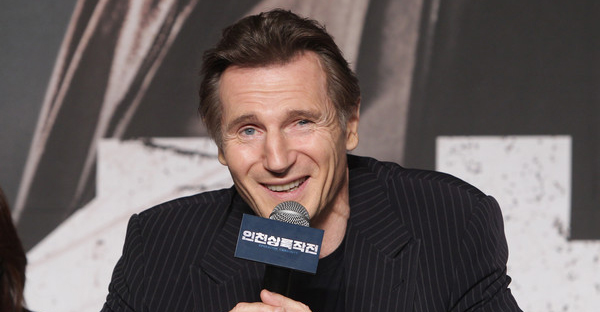 Liam Neeson attends the press conference for 'Operation Chromite' on July 13, 2016 in Seoul, South Korea. (Chung Sung-Jun/Getty Images AsiaPac)