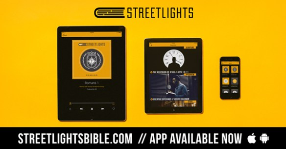 Streetlights Audio Bible Which Delivers Scripture Over a Hip